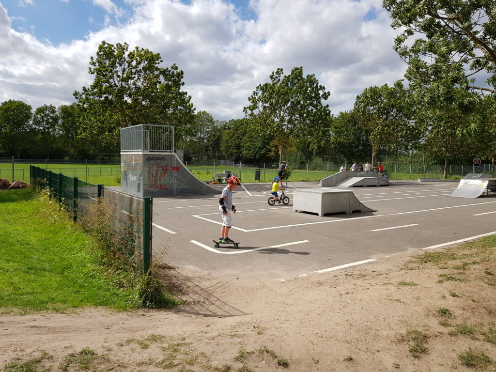 Skatepark am Pumptrack Ladenburg